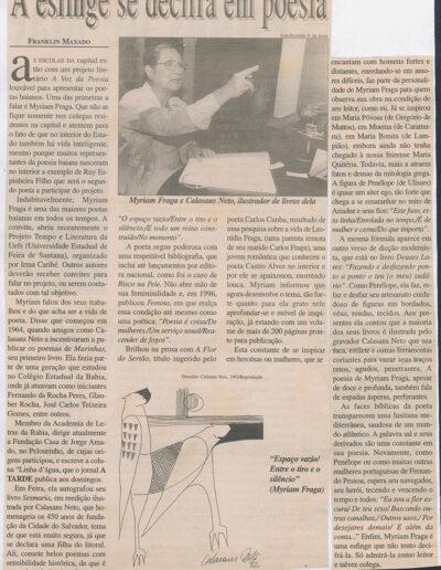 A Tarde - 05-05-2001