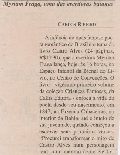 A Tarde - 19-01-2001