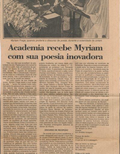 A Tarde - 31-07-1985