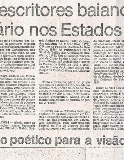 Correio da Bahia - 22-07-1985