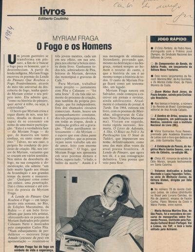 Fatos e Fotos - 1984